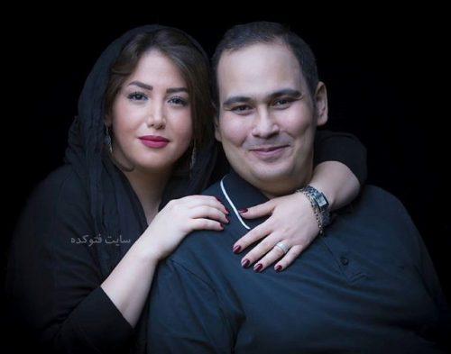 عکس و زندگی خصوصی رضا داوود نژاد و همسرش غزل بدیعی