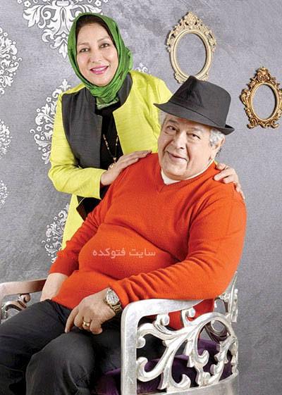 عکس رضا فیاضی و همسر دومش فریده علم بیگی