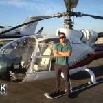 عکس هلیکوپتر شخصی محمدرضا گلزار