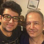 رضا جاودانی و همسرش مهشید سالاری + بیوگرافی