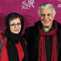 رضا کیانیان و همسرش هایده قراچه داغی