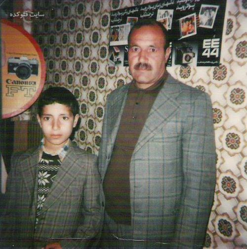 عکس کودکی رضا میرکریمی در کنار پدرش + بیوگرافی