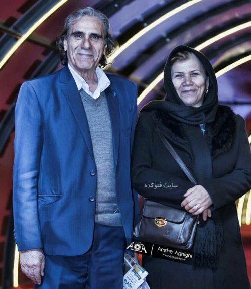 عکس رضا ناجی و همسرش + بیوگرافی کامل