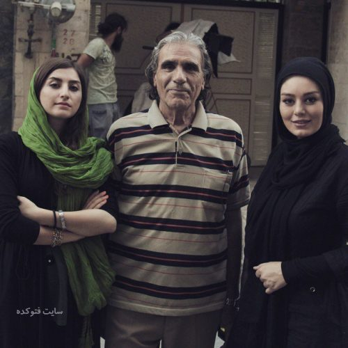 عکس رضا ناجی و سحر قریشی