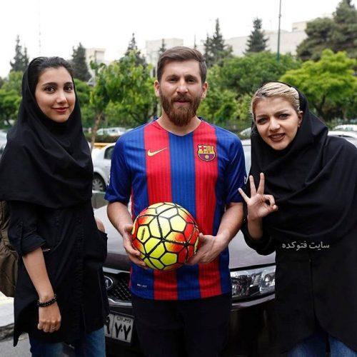 عکس رضا پرستش مسی ایرانی + بیوگرافی کامل