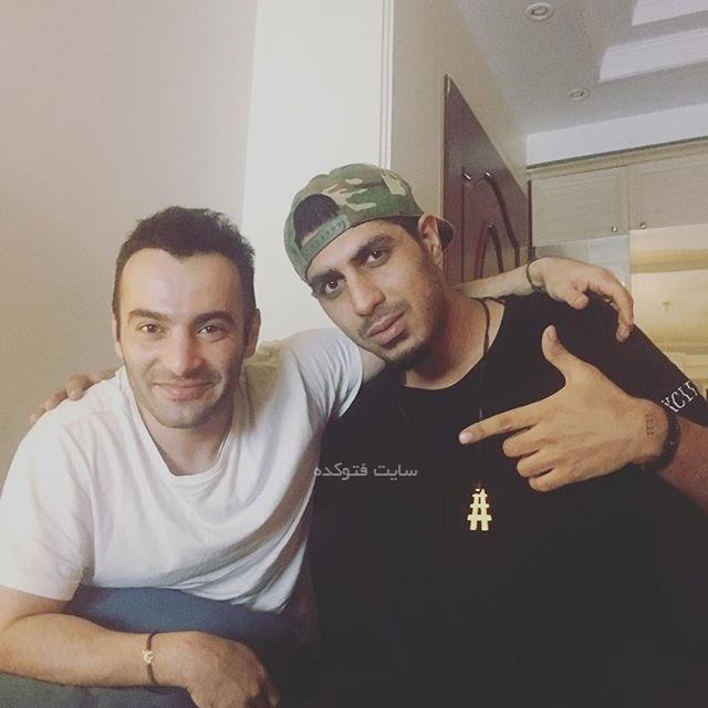 عکس رضا پیشرو و یاس خواننده های رپ فارسی