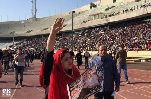 عکس های مراسم تشییع هادی نوروزی