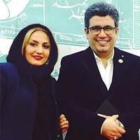 رضا رشیدپور و همسرش نغمه مهرپاک + زندگی شخصی