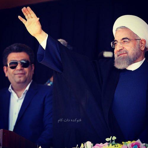 رضا رشیدپور و حسن روحانی
