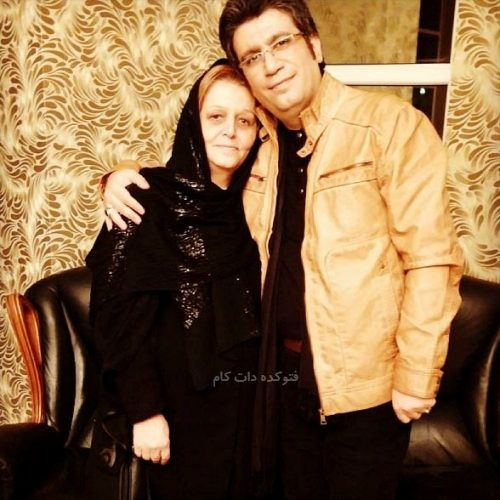 رضا رشیدپور و مادرش