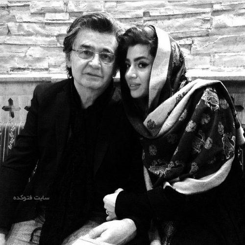 عکس رضا رویگری و همسر دومش