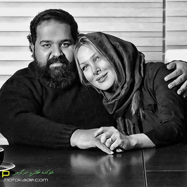 عکس های رضا صادقی زمستان 93,عکس خانوادگی رضا صادقی