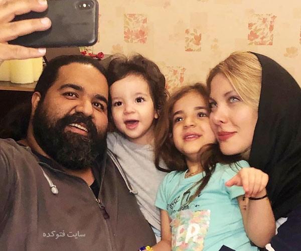 عکس های خانوادگی رضا صادقی خواننده + بیوگرافی
