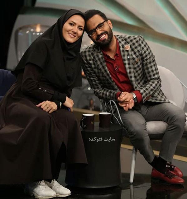 عکس رضا شیری خواننده و خواهرش مونا قهرمان پرتاب دیسک و تکواندو