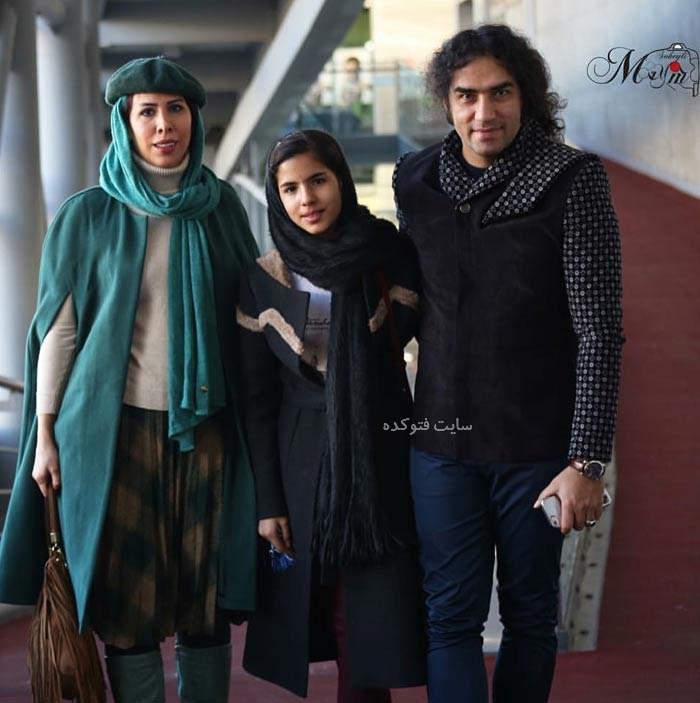 همسر رضا یزدانی + دخترش با بیوگرافی کامل