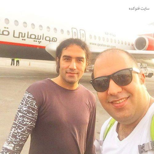 عکس رضا یزدانی و مدیر برنامه اش علی اوجی + بیوگرافی کامل