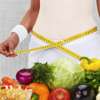 رژیم غذایی مناسب برای لاغری شکم و پهلو سریع