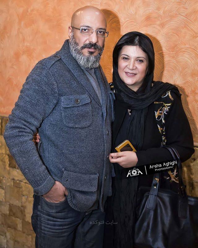 عکس بیوگرافی ریما رامین فر و همسرش