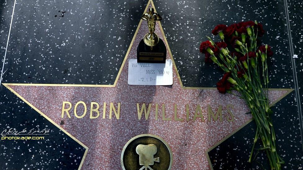 سنگ قبر رابین ویلیامز