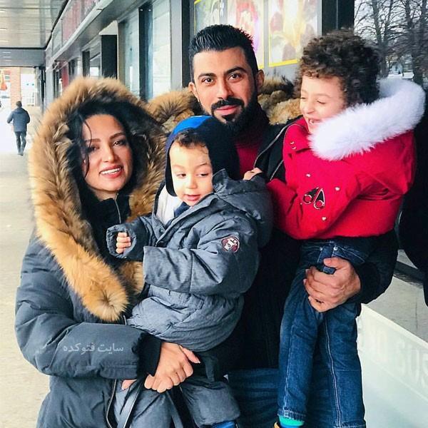 عکس خانوادگی و زندگینامه روناک یونسی