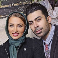 روناک یونسی و همسرش محسن میری با بیوگرافی