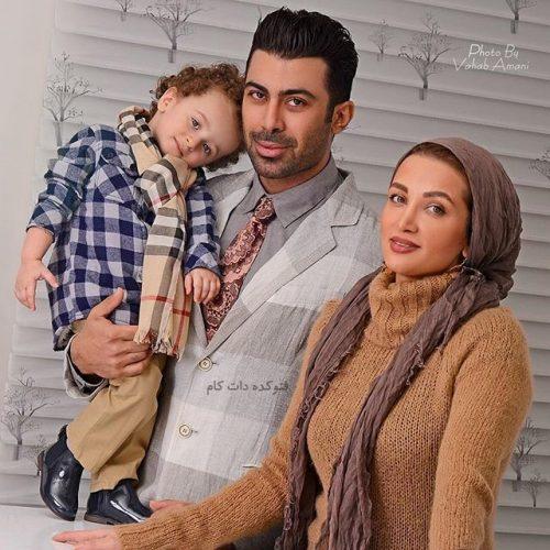 عکس خانوادگی روناک یونسی و همسرش + زندگی شخصی و فرزندان