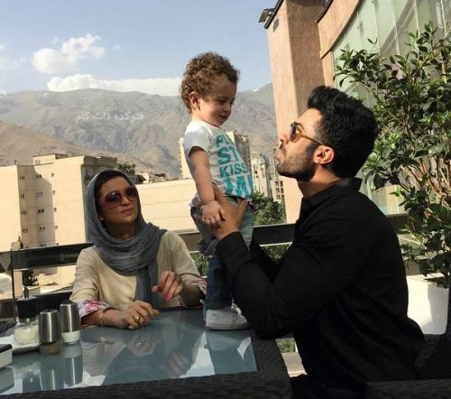 عکس روناک یونسی و همسرش محسن میری + بیوگرافی,روناک یونسی و همسرش محسن میری,عکس خانوادگی روناک یونسی و محسن میری و مهرسام,بیوگرافی محسن میری و همسرش