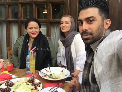 محسن میری و همسرش روناک + بهاره رهنما با بیوگرافی