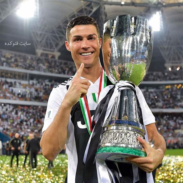 عکس کریستیانو رونالدو Cristiano Ronaldo در یوونتوس با بیوگرافی