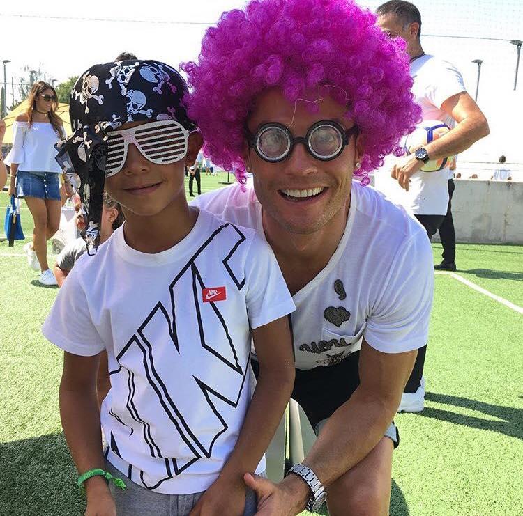 عکس رونالدو و پسرش جونیور + ناگفته های زندگی شخصی Ronaldo