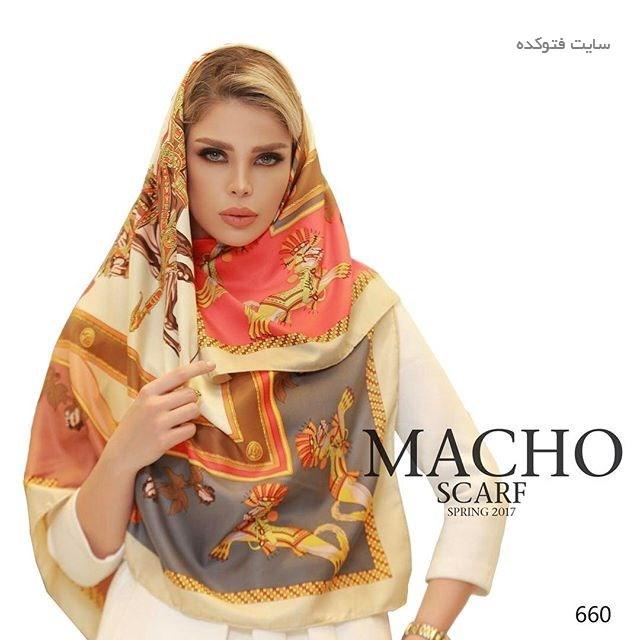 مدل شال و روسری مجلسی 1396