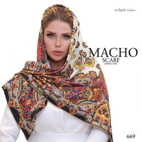مدل شال و روسری مجلسی 96 با طرح های زیبا و قشنگ