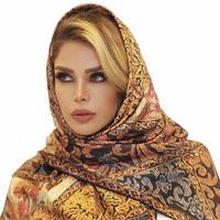 مدل شال و روسری مجلسی ۹۶ با طرح های زیبا و قشنگ