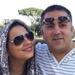 روشنک عجمیان و همسرش مهریار حمیدی + بیوگرافی