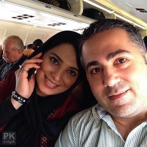 عکس روشنک عجمیان و همسرش مهریار حمیدی + بیوگرافی