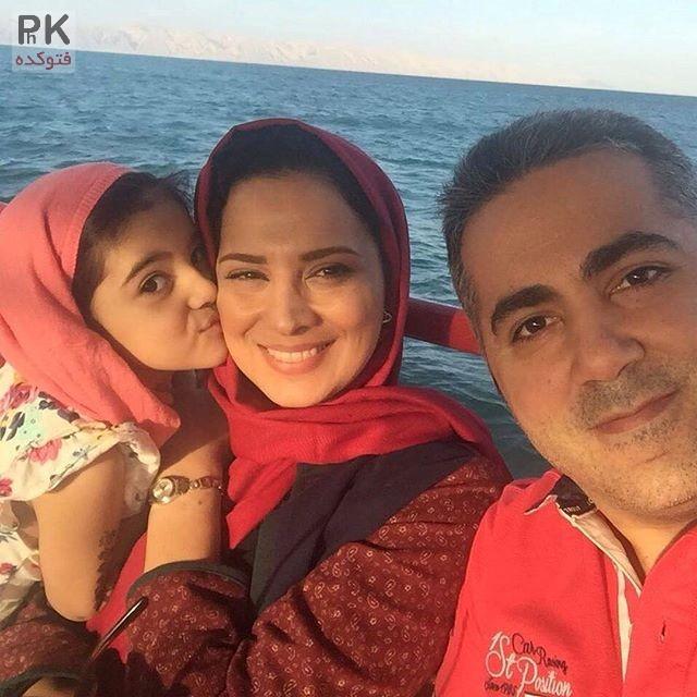 عکس خانوادگی روشنک عجمیان + زندگینامه