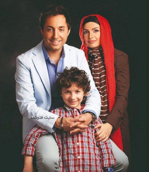 عکس امیرحسین رستمی و همسرش پوراندخت الستی