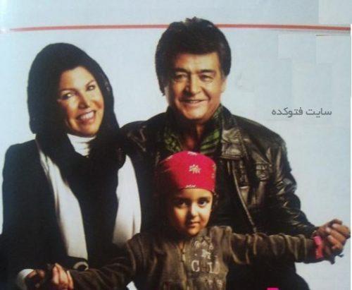 عکس رضا رویگری و همسرش فرشته میرهاشمی