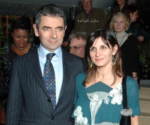 عکس مستربین و همسرش