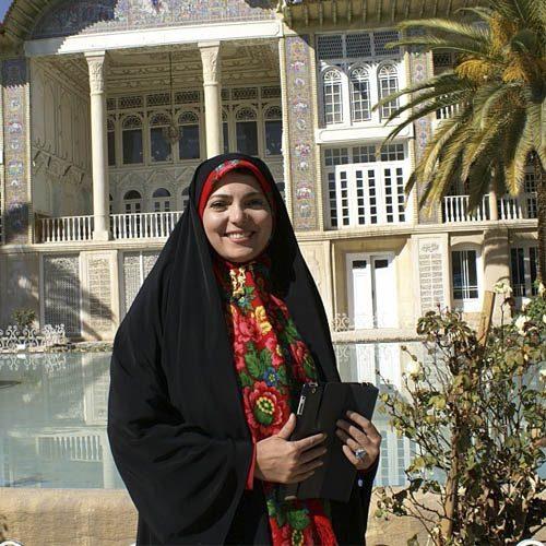 عکس رويا حسينی مجری + بیوگرافی