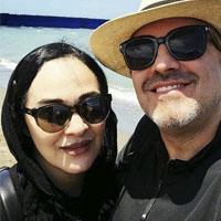 بیوگرافی رویا نونهالی و همسرش رامین حیدری فاروقی