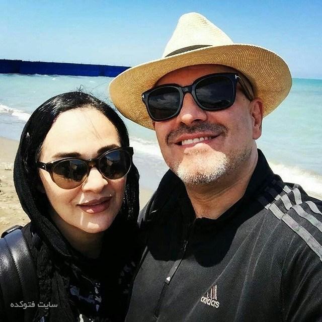 عکس رویا نونهالی و همسرش رامین حیدری فاروقی + زندگینامه