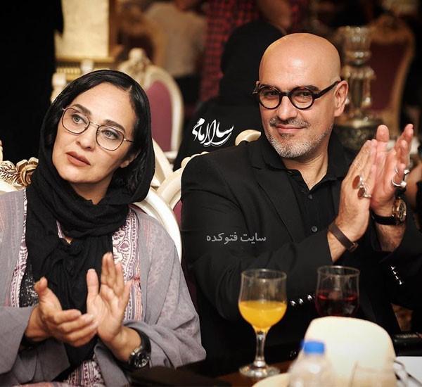 عکس بیوگرافی رامین حیدری فاروقی و همسرش رویا نونهالی
