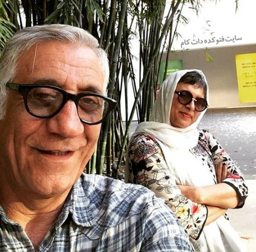 عکس مسعود رایگان و همسرش رویا تیموریان + بیوگرافی