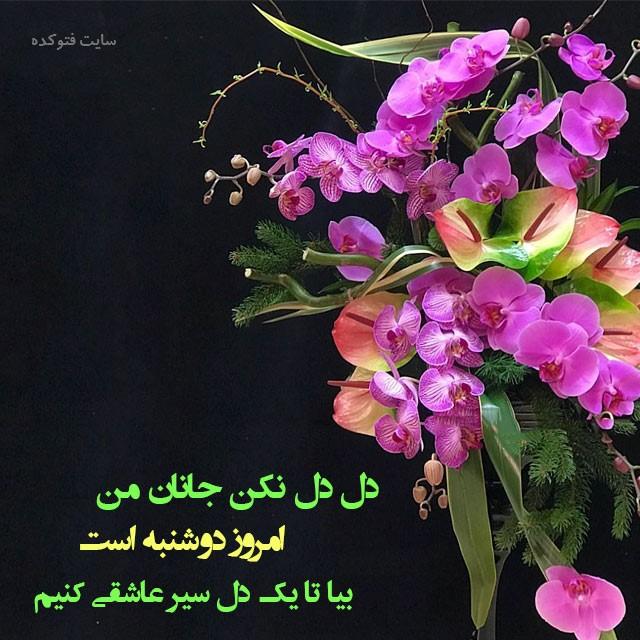 عکس پروفایل روز دوشنبه با متن های زیبا و عاشقانه