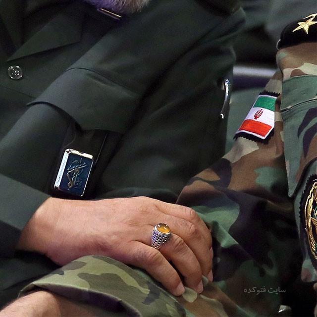 عکس نوشته روز پاسدار و ارتش