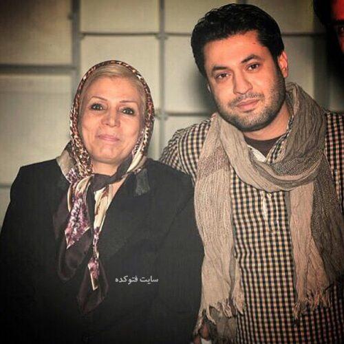 عکس روزبه معینی و مادرش
