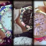 مدل ساعت و دستبند شیک دخترانه