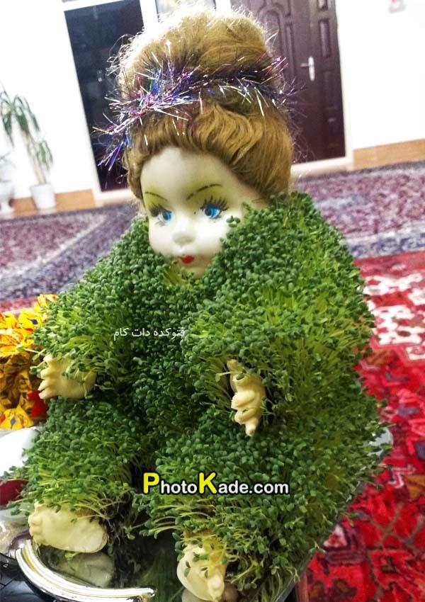 مدلهای سبزه عید عروسکی
