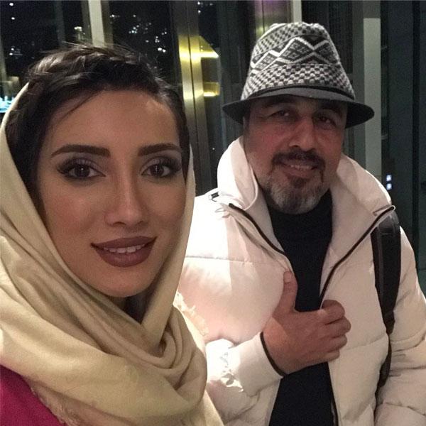 sadaf beauty و رضا عطاران
